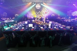 Creme de la Creme ball Cheshire for Caudwell Children charity