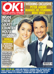Peter andre wedding Ok magazine