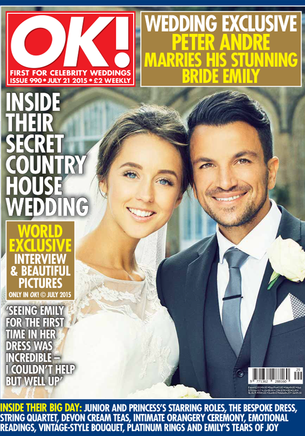Peter andre wedding